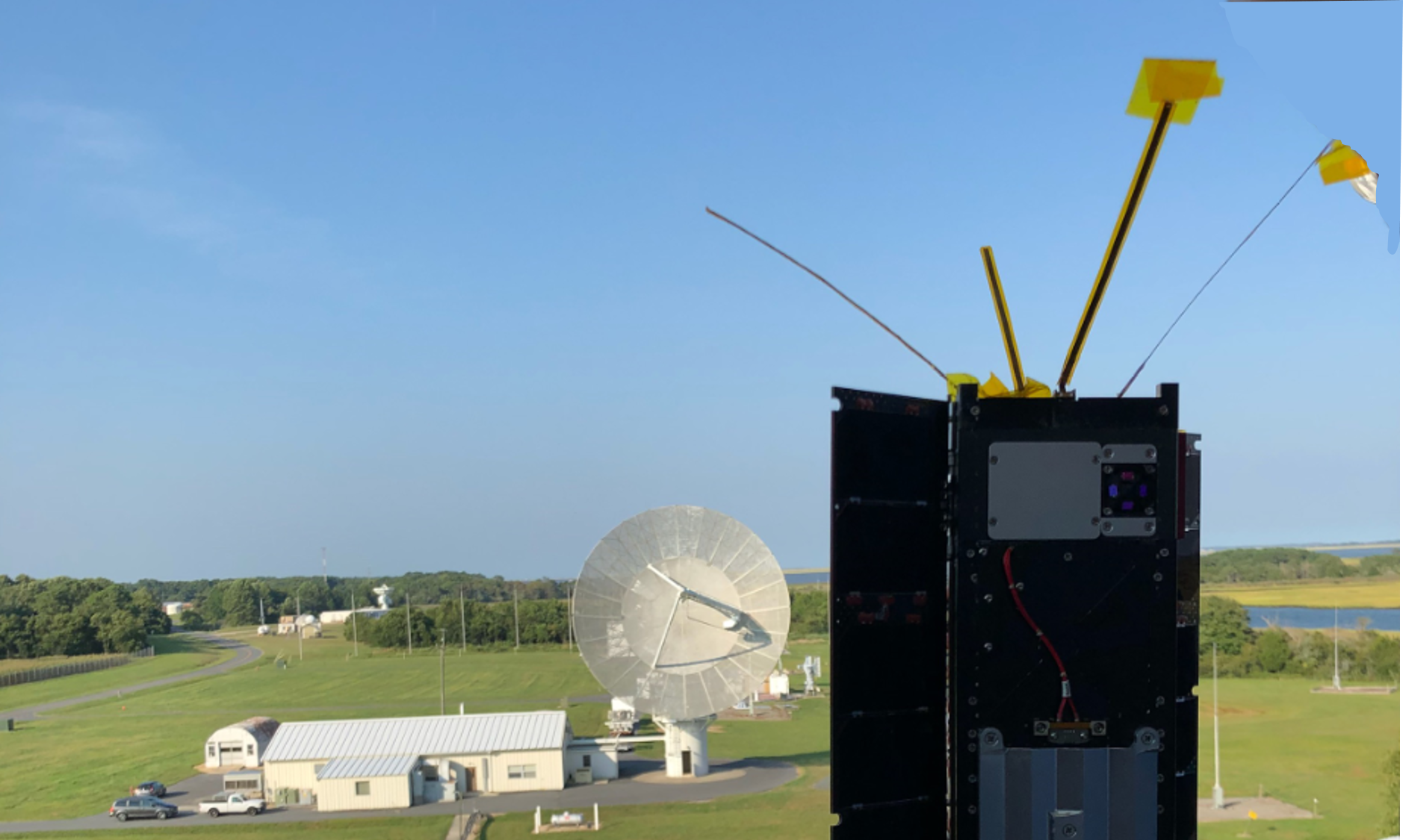 HARP Communication test at Wallops